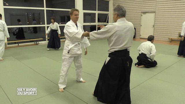 Cette semaine, Roland Guex, teste l'Aikido à Yverdon
