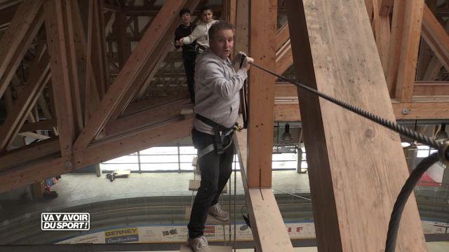 Cette semaine, Roland Guex, teste l'accro-Indoor au Sentier