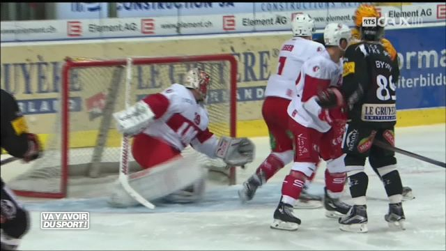 Fribourg-Gottéron se qualifie pour les playoffs