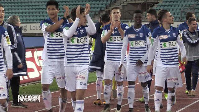 Football : Lausanne bat Wil 2-1 et s'envole au classement