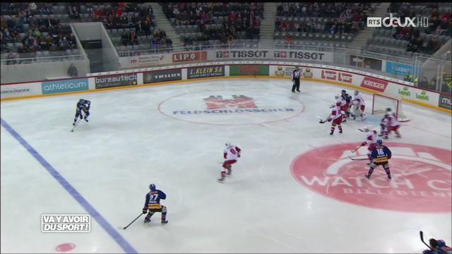 Le Lausanne HC rentre battu de Bienne 2-0
