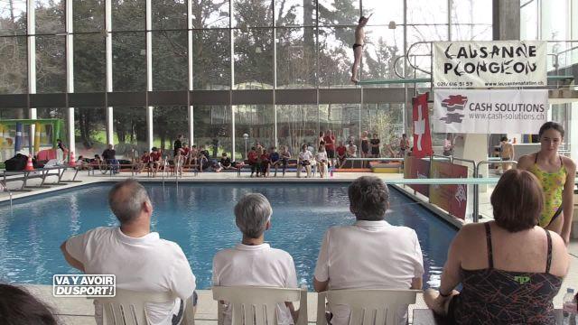 Championnats suisses juniors de plongeon à Lausanne