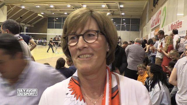 Volley : La victoire du LUC vendredi vue par Marianne Carrel