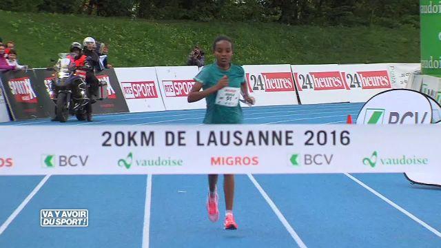 Helen Bekela et Sisay Tola vainqueurs aux 20 km de Lausanne