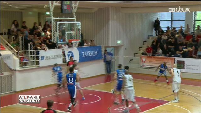 Basket : Fribourg bat Lugano 69-53 et file en finale de LNA