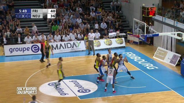 Basket : Fribourg Olympic est à une victoire du titre