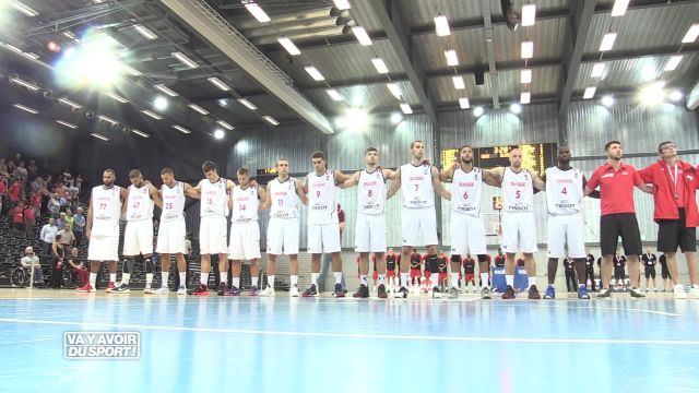 La Suisse s'incline 87-72 à Fribourg face à la Belgique