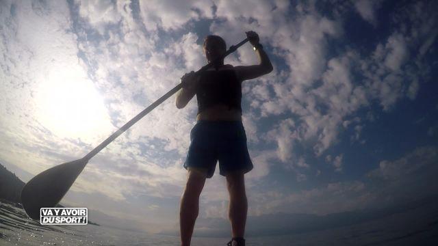 Pour la rentrée, Roland Guex teste le Paddle