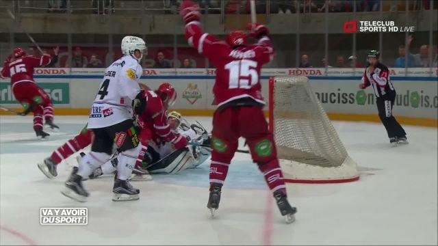 Lausanne HC vire en tête après le premier week-end