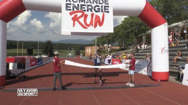 Mohammed Boulama se balade sur la Romande Energie Run 2016