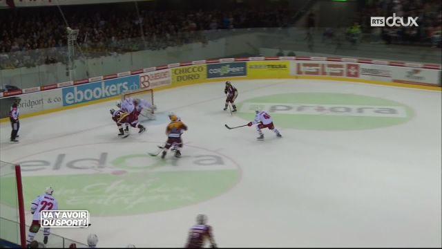 Le Lausanne HC repart des Vernets battu