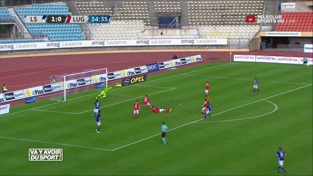 Le FC Lausanne-Sport bat Lugano 4-1