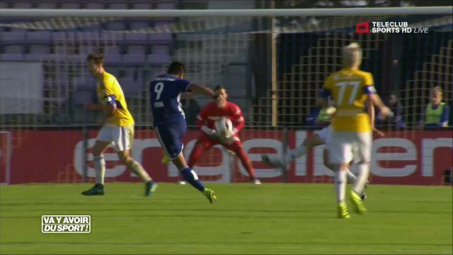 Le FC Lausanne-Sport s'incline sur le fil face à Lucerne 2-3