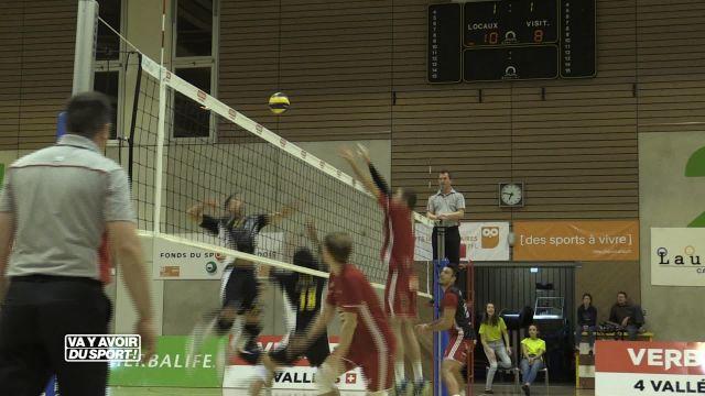 Volley : Victoire étriquée pour le LUC Volleyball