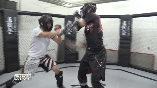 Pour son premier test, Loïc Reffet s'essaye au MMA