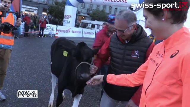La Suissesse Fabienne Schlumpf remporte la Corrida bulloise