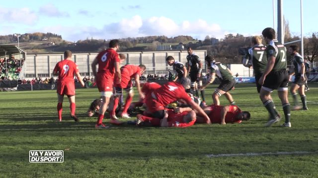 Les rugbymen suisses tiennent tête aux Loups portugais