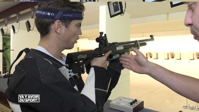 Loïc teste le tir sportif à la carabine !