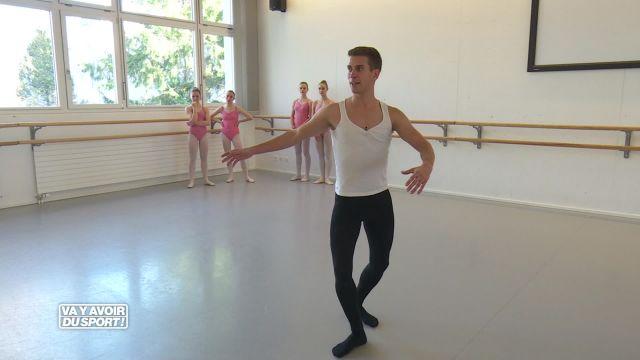 Loïc teste la danse classique