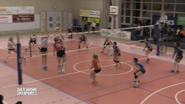 Volley : Cheseaux n'y arrive pas face à Sm'Aesch Pfeffingen
