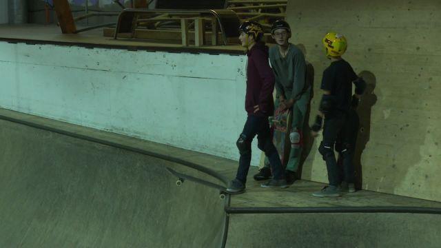 Découverte du Skatepark de Lausanne