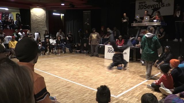 Compétition de danse Hip-hop et Break dance à Lausanne