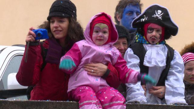 Carnaval des enfants à Fribourg