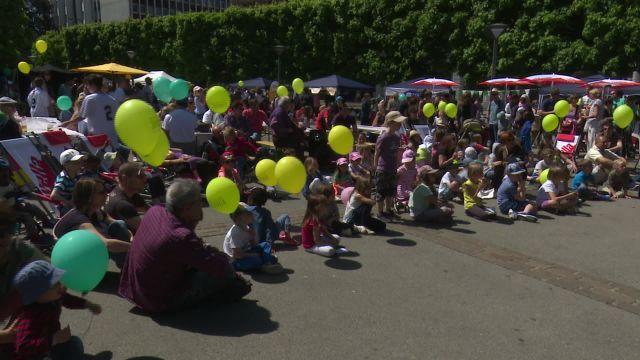 Festival cantonal de l'enfance et de la jeunesse à Fribourg