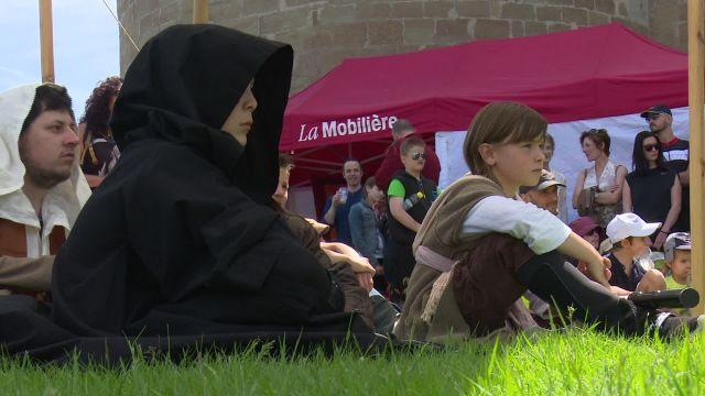 Festival suisse de capes et d'épées à Morges