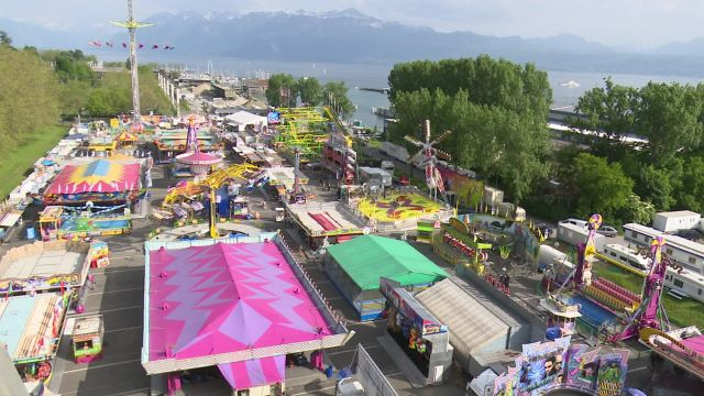 Le Luna Park à Lausanne