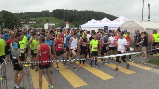 Le Semi-marathon de Fribourg