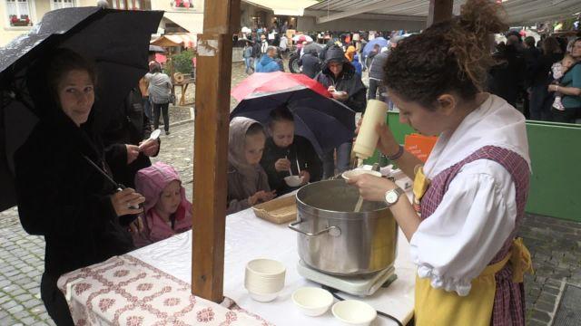 Le Festival de la crème double à Gruyères