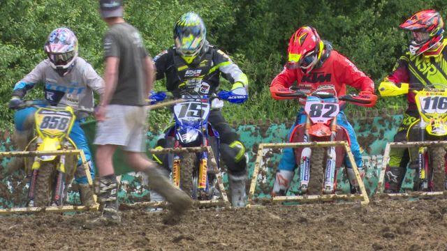 Motocross des marches à Broc