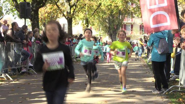 Marathon de Lausanne - courses des enfants