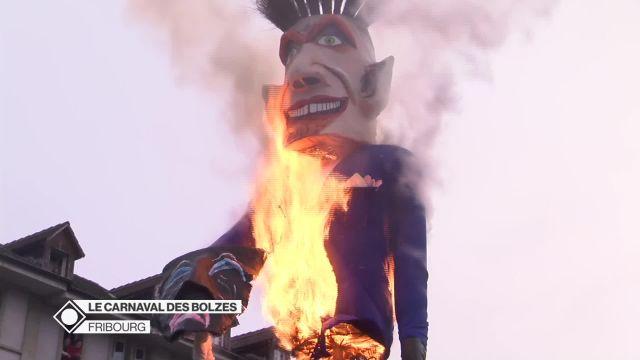 Revivez l'embrasement du Rababou au Carnaval des Bolzes