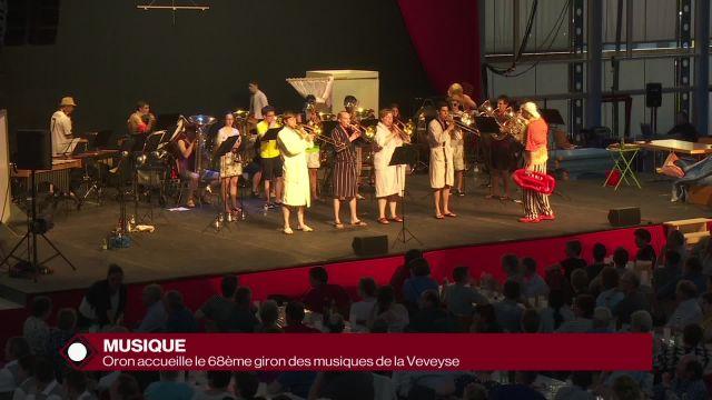 Oron accueille le 68ème Giron des musiques de la Veveyse