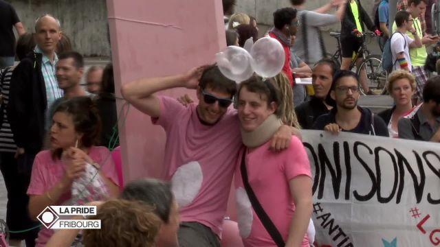 Au cœur de la Pride de Fribourg 2016