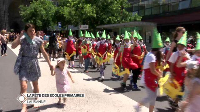 Fête des écoles primaires de Lausanne