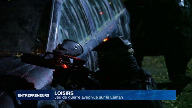 Cobalt Project: jeu de guerre avec vue sur le Léman