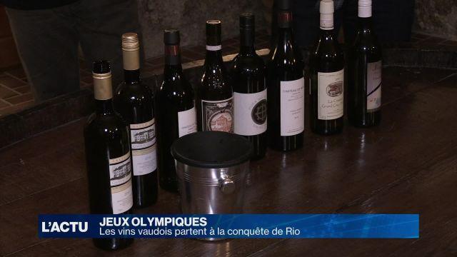 Les vins vaudois partent à la conquête de Rio