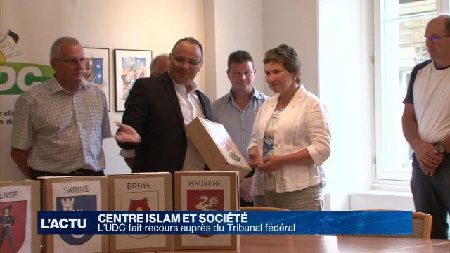 Centre Islam: l'UDC fait recours au Tribunal fédéral