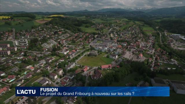 La fusion du Grand Fribourg à nouveau sur les rails ?