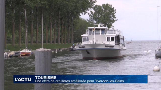 Une offre de croisière améliorée pour Yverdon-les-Bains