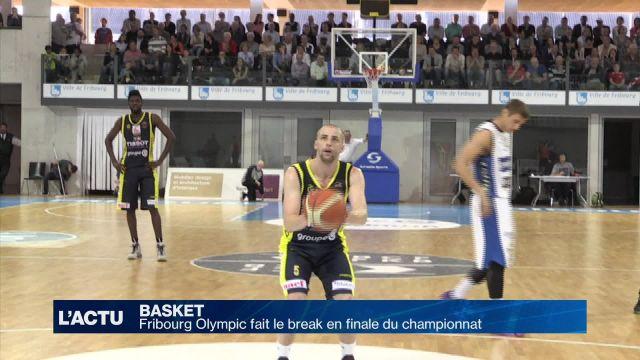 Fribourg Olympic fait le break en finale du championnat
