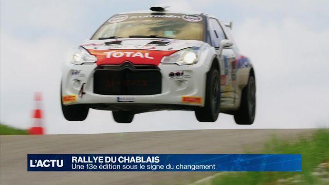 Le Rallye du Chablais 2016 sous le signe du changement