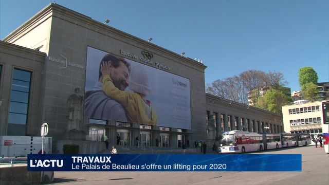 Le Palais de Beaulieu s'offre un lifting pour 2020