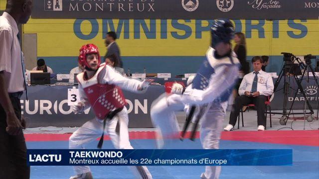 Taekwondo : Montreux accueille les 22e championnats d'Europe