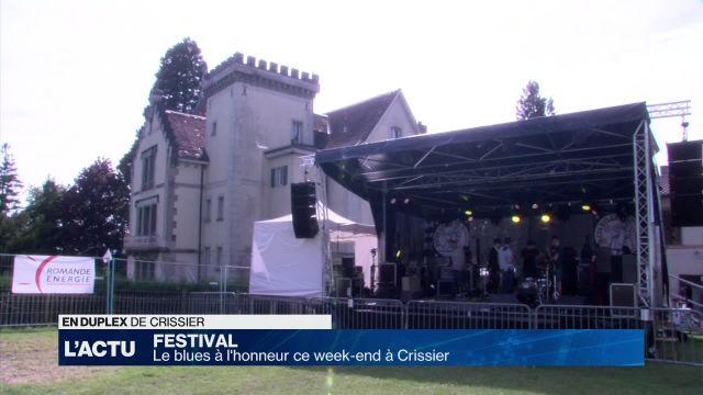 Crissier met le blues à l'honneur ce week-end