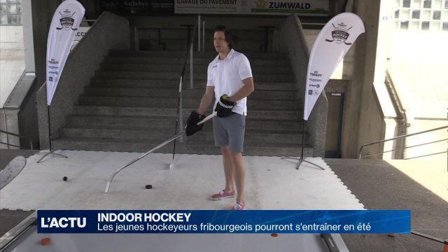 Hockey : Les jeunes fribourgeois pourront s'entraîner en été