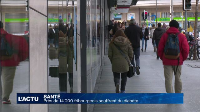 Près de 14'000 diabétiques dans le canton de Fribourg